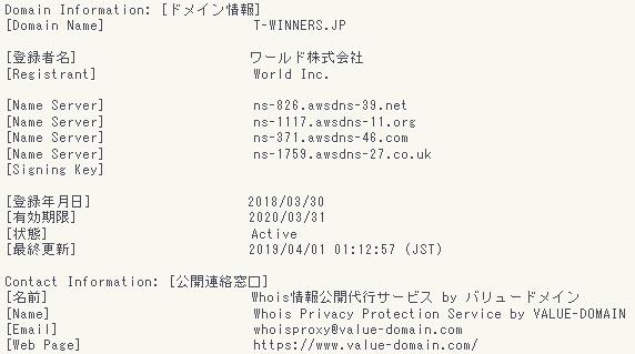t-winners.jpのWhois情報